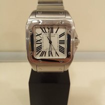 Cartier Santos 100 Xl 2656 Stainless Steel Automatic Watch
