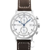 Hamilton Khaki Navy Pioneer new Automatic Watch with original box and original papers H77706553