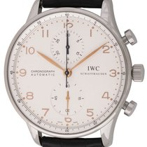 IWC : Portuguese Chronograph :  IW371445 :  Stainless steel