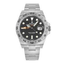 Rolex Explorer II 216570 BK Stainless Steel Men's Watch(16...