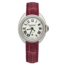 Cartier new Automatic 31mm White gold