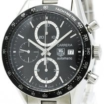 태그호이어 (TAG Heuer) Carrera Chronograph Steel Automatic Watch...