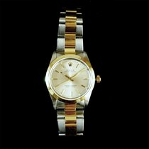 Rolex 14203M Rolex Oyster Perpetual 34mm Gold/Steel Silver...