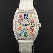 franck muller unisex color dreams 32mm factory diamonds 7502 - Color A Picture