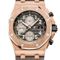 Audemars Piguet 26470OR.OO.A125CR.01 Pозовое золото 2018 Royal Oak Offshore Chronograph 42mm новые