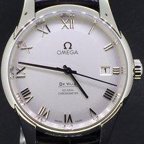 Omega De Ville Co-Axial 41MM Silver Roman Dial  Full Set 2007...