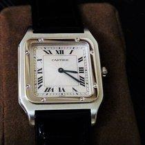 卡地亚 Cartier| Rare Platinum Santos Dumont 1980s
