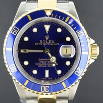 Rolex Submariner Gold&Steel Blue Dial Box&Papers/2000 (GoldBuc...