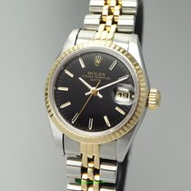 Rolex Oyster Perpetual Lady 6917 Stahl/Gold Saphir, Rolex Box...