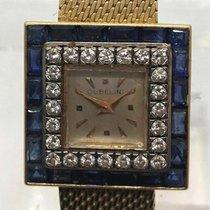 Gübelin Vintage Manual Ladies Watch W/ Factory Diamond &...