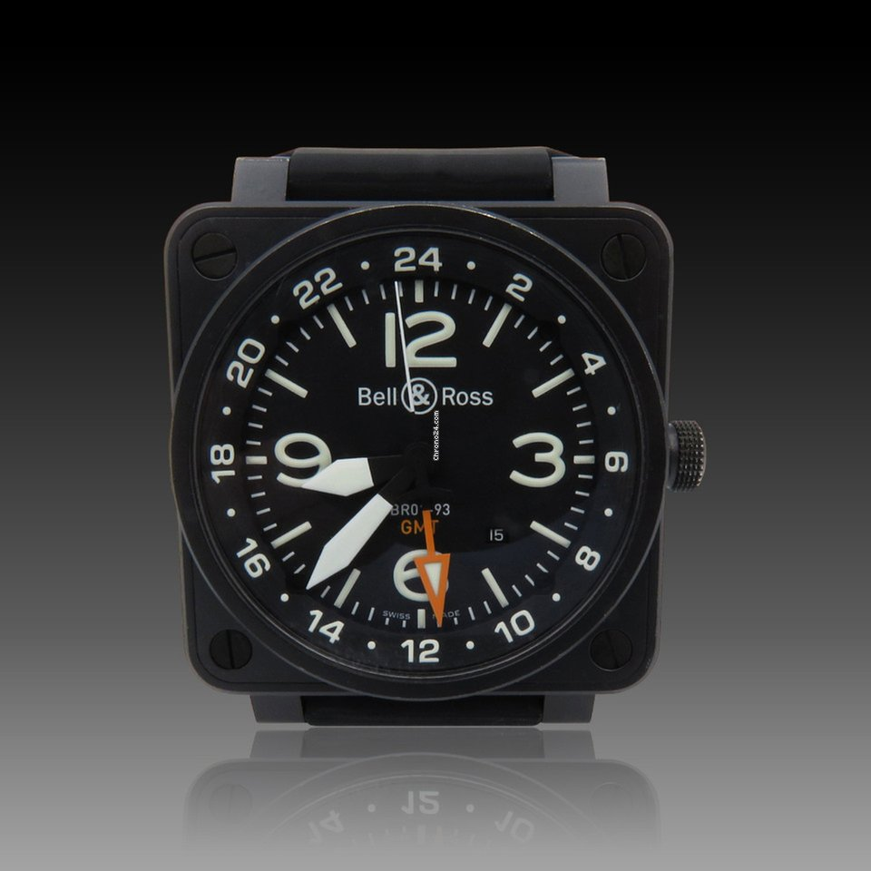 bb946b2c637 Bell   Ross BR 01-93 GMT - all prices for Bell   Ross BR 01-93 GMT watches  on Chrono24