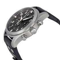 IWC Pilot Double Chronograph Staal 46mm