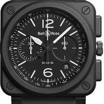 Bell & Ross BR 03-94 Chronographe Steel 42mm Black