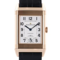 Jaeger-LeCoultre Grande Reverso Night & Day Rose gold 46.8mm Silver Arabic numerals