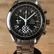 Omega 3529.50.00 Staal 2002 Speedmaster Day Date 39mm tweedehands