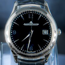Jaeger-LeCoultre Master Control Date Steel 39mm Black Arabic numerals