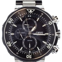 Oris ProDiver Chronograph Titanium 51mm Black United States of America, Illinois, BUFFALO GROVE