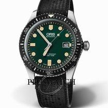 Oris 01 733 7720 4057-07 4 21 18 Steel Divers Sixty Five 42mm new