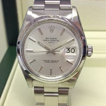 Rolex Oyster Perpetual Date Steel 34mm Silver No numerals United Kingdom, Wilmslow