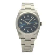 Rolex Oyster Perpetual 36 Steel 36mm Blue No numerals United Kingdom, Liverpool