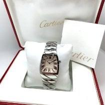 Cartier La Dona de Cartier Acier 28mmmm Blanc Romains France, Paris
