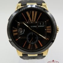 Ulysse Nardin Executive Dual Time Rose gold 43mm Black Roman numerals United States of America, Texas, Houston