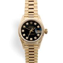 Rolex Lady-Datejust Yellow gold 26mm Black United Kingdom, London