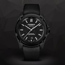 Formex Carbon Automatic Black No numerals 43mm new