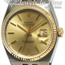 Rolex Datejust Oysterquartz Gold/Steel 36mm Champagne No numerals United States of America, Florida, 33431