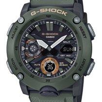 Casio Vjestacki materijal Kvarc Crn 48.7mm nov G-Shock