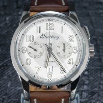 Breitling Steel 43mm Manual winding AB141112/G799/740P/A20D.1 pre-owned