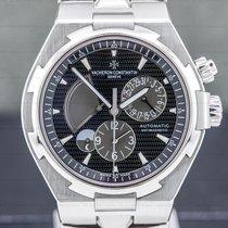 Vacheron Constantin Overseas Dual Time 47450-B01A-9227 Sehr gut Stahl 42mm Automatik