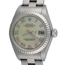 Rolex Lady-Datejust Acier 25mm Nacre Romain