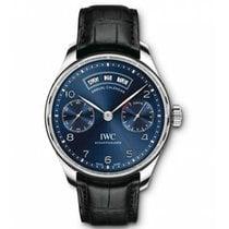 IWC Portuguese Annual Calendar nuevo 2020 Automático Reloj con estuche y documentos originales IW503502