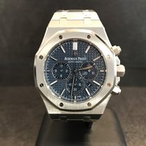 Audemars Piguet Royal Oak Chrono - 41mm Blue Dial  - Boutique...