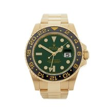 Rolex GMT-Master II 18k Yellow Gold Gents 116718 - W4242