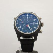 IWC Pilot's Double Chronograph TOP GUN 46MM Black Ceramic ref....