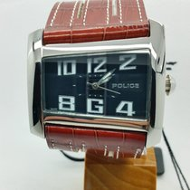 Police gent's design wristwatch