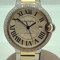Cartier Ballon Bleu 42mm two-tone with diamonds