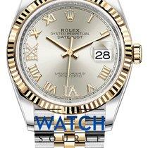Rolex Datejust New Gold/Steel 36mm Automatic