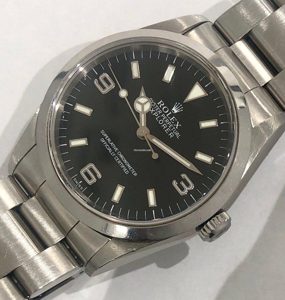 4eac1bfc49d Rolex Explorer - Todos os preços de relógios Rolex Explorer na Chrono24