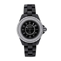 Chanel Ceramic 33mm Quartz H0949 pre-owned