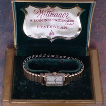 Wittnauer Statesman 40s Vintage Art Deco Running 17j 9WN Orig....