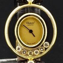 Chopard Happy Diamonds Geelgoud 23mm Geel Geen cijfers