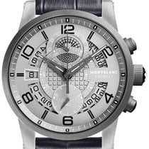 Montblanc Titanium Automatic Grey Arabic numerals 43mm new Timewalker