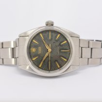 Rolex 34mm Manual winding 1959 pre-owned Oyster Precision Silver