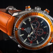Omega Seamaster Planet Ocean Chronograph 29185038 2008 pre-owned