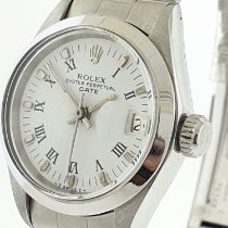 Rolex Oyster Perpetual Lady Date Acero 26mm Blanco Sin cifras Argentina, buenos aires