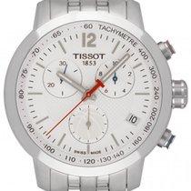 Tissot Steel 42mm Quartz T055.417.11.017.01 new