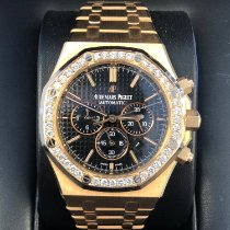 Audemars Piguet Royal Oak Chronograph Rose gold 41mm Black No numerals United States of America, California, Beverly Hills